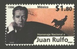 Mexico - Mexique 1996 Yvert 1655, Tribute To The Writer Juan Rulfo - MNH - Messico