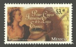 Mexico - Mexique 1997 Yvert 1735, 1st International Congress Of The Spanish Language - MNH - México
