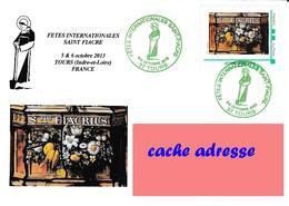 BT FETES INTTERNATIONALES DE LA ST FIACRE SUR MTAM TOURS 5/10/2013VOIR SCANS - France