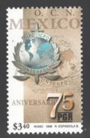 Mexico - Mexique 1998 Yvert 1834, 75th Anniversary Of OIPC-Interpol - MNH - México