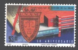 Mexico - Mexique 2001 Yvert 1951, Fiftieth Anniversary UNAM - MNH - México