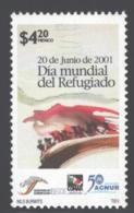 Mexico - Mexique 2001 Yvert 1955, 20th Of June. World Refugee Day - MNH - México
