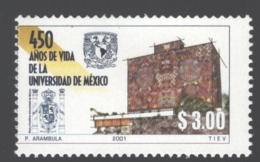 Mexico - Mexique 2001 Yvert 1961, 450th Anniversary Of The National Autonomous University Of Mexico - MNH - México