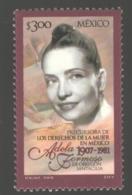 Mexico - Mexique 2001 Yvert 1963, 20th Anniversary Of The Death Of Adela Formoso De Obregon Santacilia - MNH - México