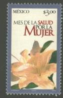 Mexico - Mexique 2001 Yvert 1968, Women's Health Month - Yellow Lilium / Flower - MNH - México