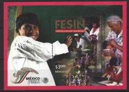 Mexico - Mexique 2001 Yvert BF 59, FESIN - Miniature Sheet - MNH - México