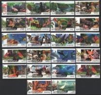 Mexico - Mexique 2002 Yvert 1978-99, Definitive Set - Nature Protection - Animals - MNH - México
