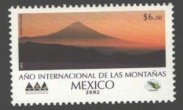 Mexico - Mexique 2002 Yvert 2012, International Year Of Mountains - MNH - México