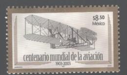 Mexico - Mexique 2003 Yvert 2032, Centenary Of Aviation 1903-2003 - Plane - MNH - México