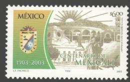 Mexico - Mexique 2003 Yvert 2035, Centenary Of The City Of Mexicali - MNH - México