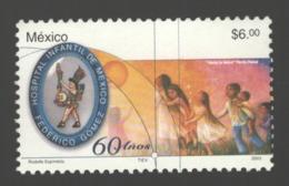 Mexico - Mexique 2003 Yvert 2037, 60th Anniversary Of The Children's Hospital Federico Gomez - Fanny Rabal Painting- MNH - México