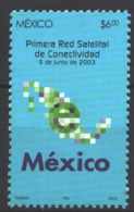 Mexico - Mexique 2003 Yvert 2042, First Satellite Connectivity Network - MNH - México