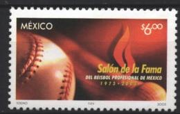 Mexico - Mexique 2003 Yvert 2043, 30th Anniversary Of Baseball 'Salón De La Fama' / Hall Of Fame - MNH - México