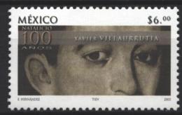 Mexico - Mexique 2003 Yvert 2044, Centenary Of The Birth Of Xavier Villarrutia - MNH - México