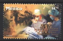 Mexico - Mexique 2003 Yvert 2046, 150th Anniversary Of Veterinary Medicine School - MNH - México