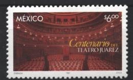 Mexico - Mexique 2003 Yvert 2053, Centenary Of Juarez Theater - MNH - México
