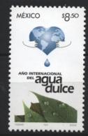 Mexico - Mexique 2003 Yvert 2058, International Year Of Freshwater - MNH - México