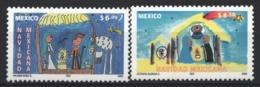 Mexico - Mexique 2003 Yvert 2059-60, Christmas. Children's Drawings - MNH - México