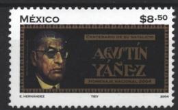 Mexico - Mexique 2004 Yvert 2062, Literature. Writer Agustin Yañez - MNH - México