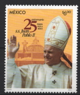 Mexico - Mexique 2004 Yvert 2061, 25 Years Of Pontificate Of Pope John Paul II / Juan Pablo II - MNH - México