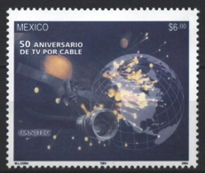 Mexico - Mexique 2004 Yvert 2064, Fiftieth Anniversary Of Cable TV - MNH - México