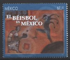 Mexico - Mexique 2005 Yvert 2110, Sport. Baseball In Mexico - Francisco Toledo Painting - MNH - México