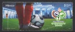 Mexico - Mexique 2006 Yvert 2195, Germany 2006 FIFA World Cup - Football - MNH - México