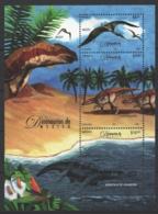 Mexico - Mexique 2006 Yvert BF 65, Prehistoric Fauna Of Mexico, Dinosaurs - Miniature Sheet - MNH - México
