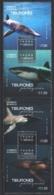 Mexico - Mexique 2016 Yvert 3011-14, Mexico Marine Fauna - Strip / Bande - Shark - MNH - México