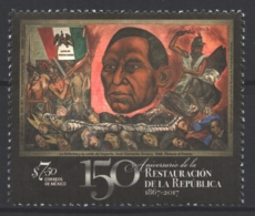 Mexico - Mexique 2017 Yvert 3051, 150th Anniversary Of The Restoration Of The Republic -J. Clemente Orozco Painting- MNH - Mexico