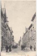 Sint Niklaas - St-Nicolaas - Zamanstraat - Geanimeerd - 1906 - Eigend. F. Dalschaert-Praet - Sint-Niklaas
