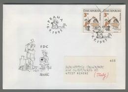 C4179 Ceska Republika FDC 1995 VLADIMIR RENCIN 3 KC VG - FDC