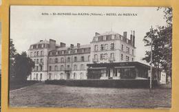 C.P.A. Saint-Honore-les-Bains - Hôtel Du Morvan - Saint-Honoré-les-Bains