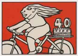 Cpm ERGON - Femme à Bicyclette - Vélo - Cyclisme - Illustrateurs - Illustrateur - Ergon