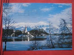 Bled / Veldes - Blejski Otok / Winter - Slowenien