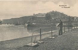CPA - Belgique - Namur - La Passerelle - Namur