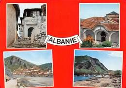 Albanie - BERATI - Berat - Différentes Vues De La Ville - Timbres - Albanie