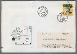 C4191 Ceska Republika FDC 1995 JAN WERICH 3 KC VG - FDC