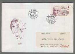 C4193 Ceska Republika FDC 1995 UNESCO PREMYSL PITTER 7 KC VG - FDC