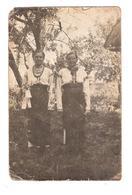 HONGRIE - JEUNES FEMMES HONGROISES EN COSTUME TRADITIONNEL - Costumes