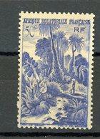 AEF - SERIE COURANTE - N° Yvert  211 * - A.E.F. (1936-1958)
