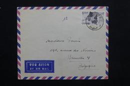 CONGO - Enveloppe De Pweto  Pour Bruxelles En 1963 , Affranchissement Plaisant - L 25108 - République Du Congo (1960-64)