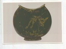 Charles Midoux Manuf. Haviland Auteuil : Vase Paradisier Terre Cuite émaillée Coll YLA Emaux Atmosphériques (cp Vierge) - Arts