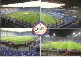 Football -- K R C Genk - Cristal Arena - Belgique     (2 Scans) - Football