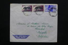 CONGO - Enveloppe De Elisabethville Pour Bruxelles En 1964 , Affranchissement Plaisant - L 25113 - République Du Congo (1960-64)
