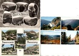 3 CPSM **Massif Du LOHNECK + Souvenir De BUSSANG + Hautes Vosges ** Multivues En Très Bon Etat - France