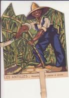 """Image Animée """"Les Antilles- Récolte De La Canne à Sucre"""" - Vieux Papiers"""