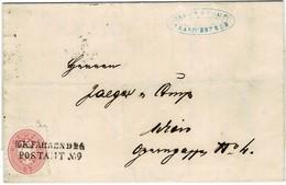1866, Fahrendes Postamt,sehr Klar !  Kranichsfeld , #9217 - 1850-1918 Keizerrijk