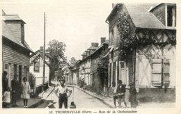 Thiberville Rue De La Carbonnière - France