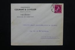 BELGIQUE - Enveloppe Commerciale De Tournai En 1946 Pour Bruxelles - L 25117 - Belgium